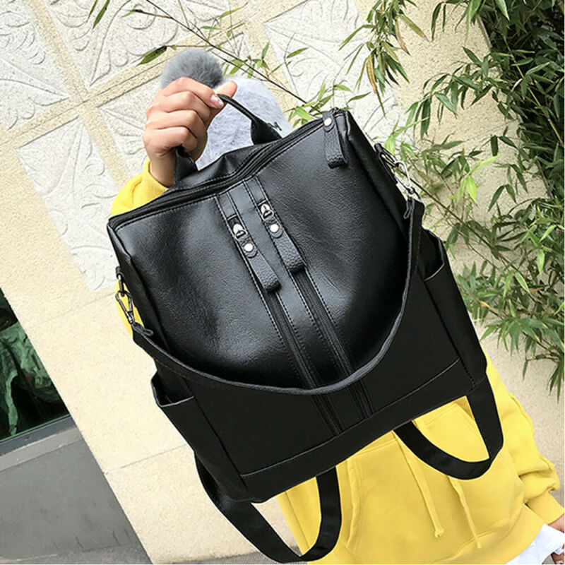 Fashion Women Ladies Backpack Leather Backpack Shoulder Bags Female Student Girls School Bag
