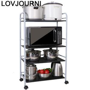 Image 1 - Storage Rack Scaffale Mensole Kitchen Shelf Paper Towel Holder Repisas Y Prateleira Estantes Organizer Trolleys Shelves