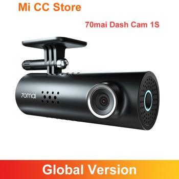70mai Dash Cam 1S English Voice Control 70 Mai Smart Car Camera Night Version130 degree view 1080P Wifi Car DVR Drive Recorder