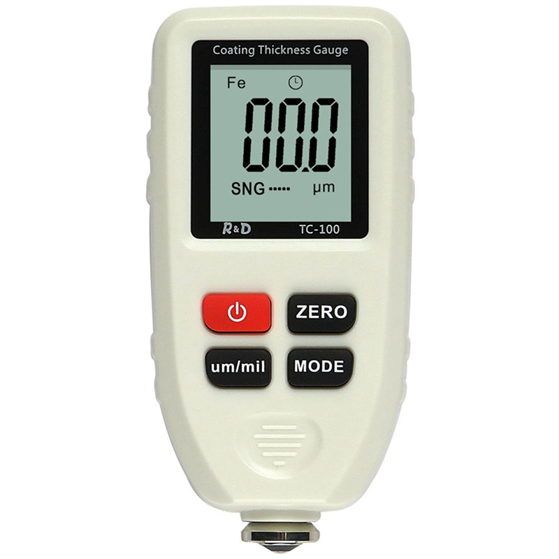TC100 Coating Thickness Gauge 0.1Um / 0 1300 Automotive Paint Film Thickness Tester Measurement|Power Meters| |  - title=