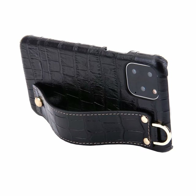 YXAYN Genuine Leather Crocodile Pattern Strap Ultra Thin Hard for iphone 11 Pro max X XS XR 7 8 Plus Phone Case 3