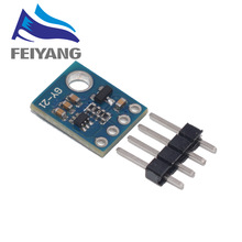 10 Uds Si7021 GY 21 módulo Industrial de alta precisión Sensor de humedad interfaz IIC módulo Arduino CMOS de baja potencia IC para