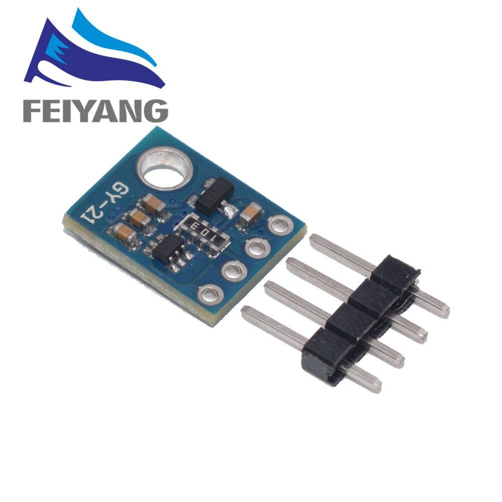 Si7021 GY-21 модуль промышленный высокоточный датчик влажности I2C IIC интерфейсный модуль для Arduino модуль CMOS IC с низкой мощностью