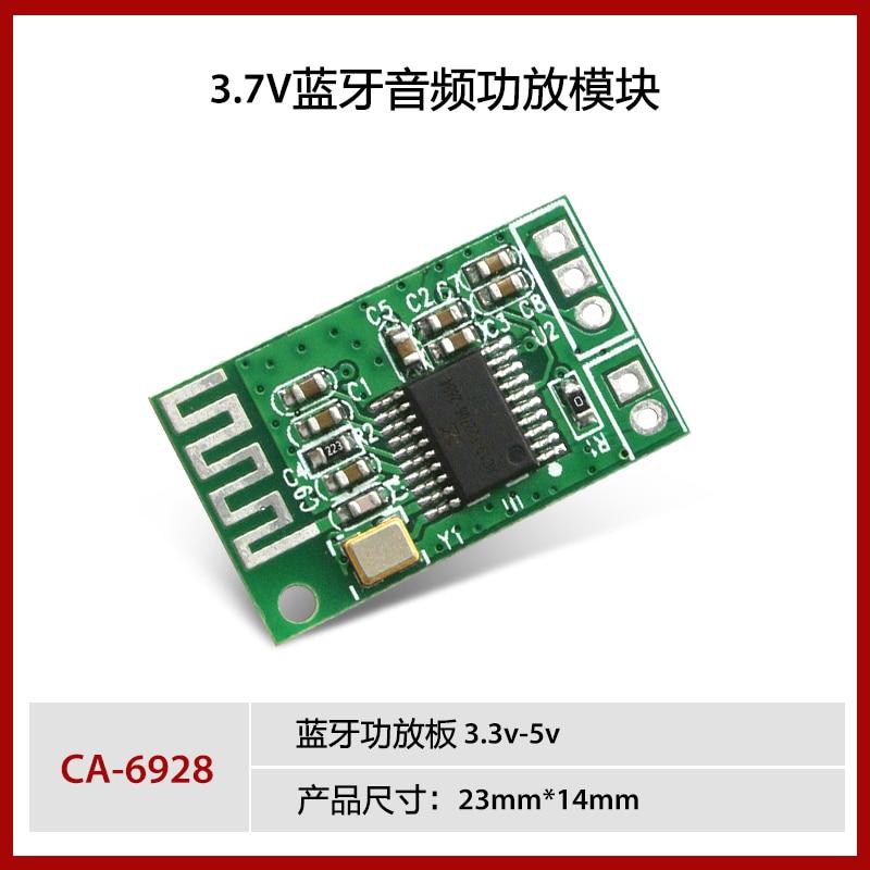 5PCS~10PCS/LOT  CA-6928  Bluetooth audio module Bluetooth power amplifier board 3.3v-5v