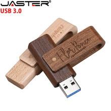 JASTER USB 3,0 Kunden LOGO holz-stick holz usb-stick 4 GB 8 16 32 64 memory stick (über 5PCS freies LOGO)