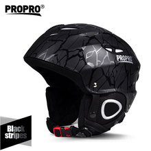Cross-country Skiing Adults Skiing Helmet For Snowboarding Skating Ultralight ABS+EPS Outdoor Sports Skateboard Helmet propro cheap unisex Winter 6 Years Other SHM-001