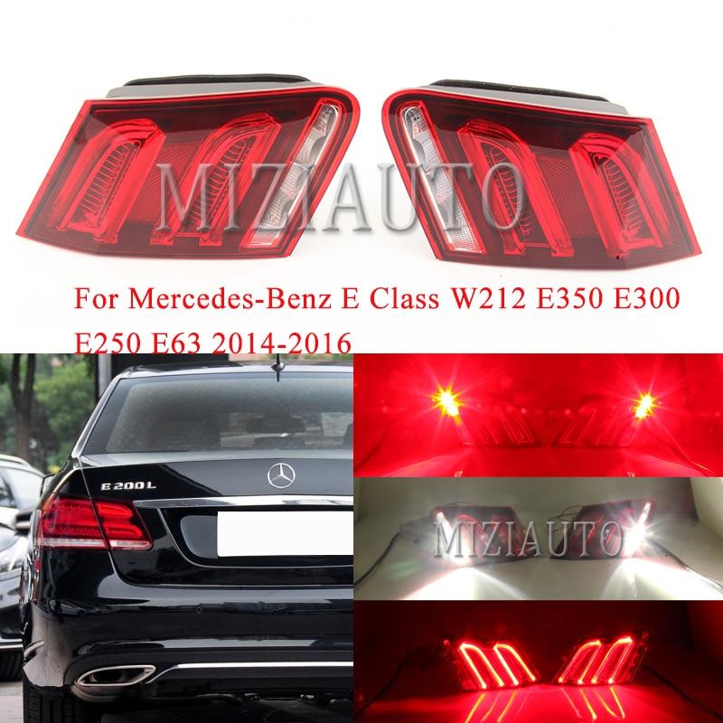 Rear tail light Inner side For Mercedes-Benz E Class W212 E350 E300 E250 E63 2014-2016 Tail Stop Brake Lights turn signal lamp
