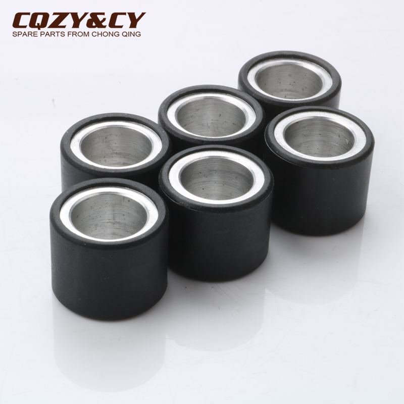 6pc Variator Racing Roller Weights 5gram 19x15.5 Mm For PIAGGIO Diesis 50 Fly Free Delivery 50 Liberty Nrg Mc3 Typhoon 50cc 2T