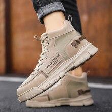 Moda inverno botas masculinas puleather masculino à prova dwaterproof água sapatos chaussure mans sapatos casuais para homens botas calçados masculinos sneakers00