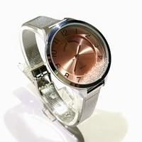 Frauen Uhr der moderne edelstahl armband kristalle swarovskisi-in Damenuhren aus Uhren bei