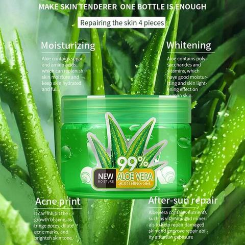 250 ml puro aloe vera gel hialuronico