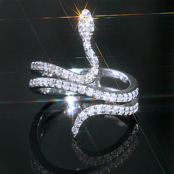 Bague serpent fine