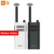Originale Xiaomi Beebest Xiaoyu Palmare Walkie Talkie Portatile di Grande capacità della batteria 5W di Potenza Interfono Senza Fili
