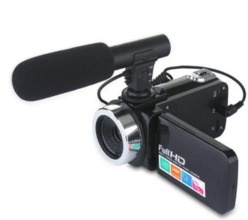 3.0 Inch 24MP 1080P HD Digital Camera 18x Zoom With Microphone