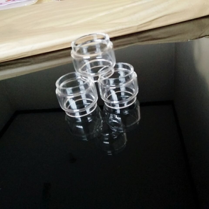 10pcs Extended Bulb Glass for Zeus X RTA Sub Ohm Dual Ammit Blitzen Aero Mesh Tank Aegis Kit Fat Boy Bubble Glass Tube 4