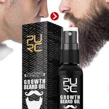 30ml Men Beard Growth Oil Natural Organic Beard Essential Oil Beard Conditioner Men Soften Hair Growth Nourishing Beard Care