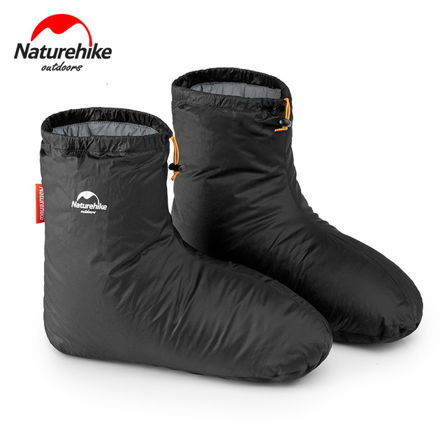 Naturehike fundas para zapatos de ganso blanco, 700FP, para acampar, interior, Unisex, para invierno, cálidas, impermeables, a prueba de viento, ForKeep Warm, 90%