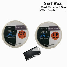 Surf wax Cool Water Wax+Cool water +surf comb Surfboard
