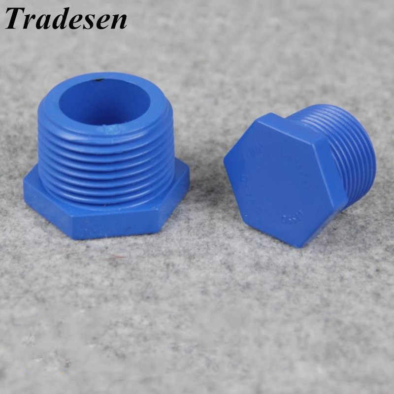 """PP -   1//2/"""" To 4/"""" BSP End Cap Polypropylene Pipe Fittings"""