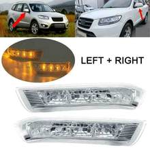 Auto Side Mirror Led Richtingaanwijzer Voor Hyundai Santa Fe Ii 2007-2012 Side Omkeren Blinker Indicator Lamp #876233J000