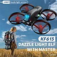 2021 nuovo KF615 Drone 4K HD doppia fotocamera WiFi Fpv altezza mantenere Quadcopter droni professionali RC elicottero Mini Dron giocattoli per ragazzi