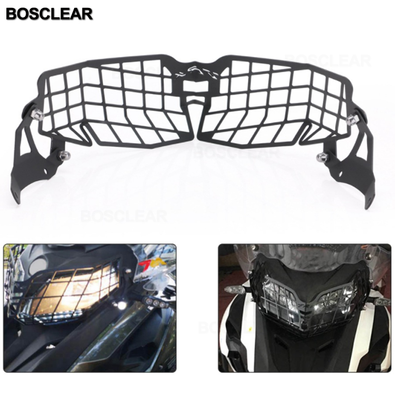 For Benelli TRK502 TRK 502X Moto Parts Motorcycle Accessories Headlight Guard Protector Grille Covers Mount Protector Guard