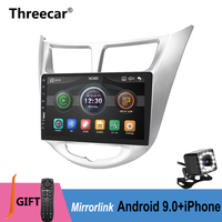 9inch one din MP5 radio For Hyundai Verna Solaris Accent 2016 2017 Mirror Link No Android Car Radio Multimedia Video Player 2DIN
