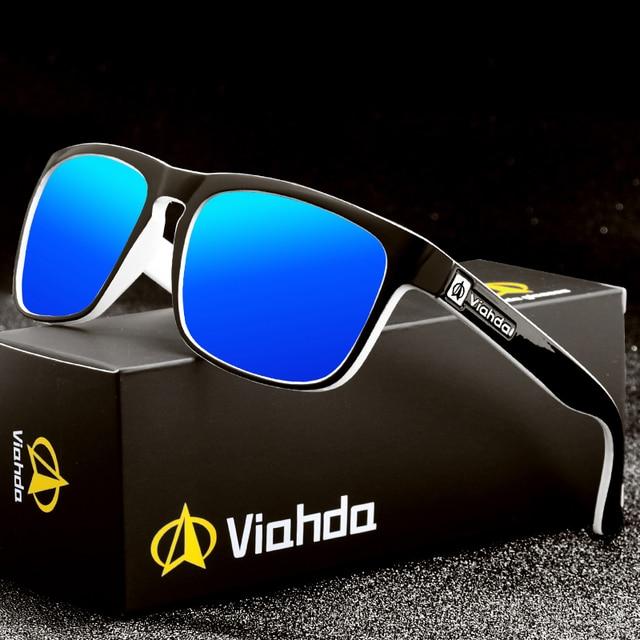Viahda 2020 브랜드의 새로운 편광 선글라스 남자 멋진 여행 태양 안경 고품질의 낚시 안경 Oculos Gafas
