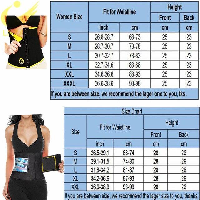 LAZAWG Waist Trimmer Waist Trainer for Weight Loss Sweat Belt Belly Fat Slimming Stomach Band Lumbar Support Neoprene Wrap Sets 5