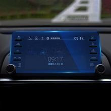 For Honda Accord 10th 2018 Car GPS Navigation Screen Steel Protective Film Dashboard Pain Protector Film Car Sticker Accessories