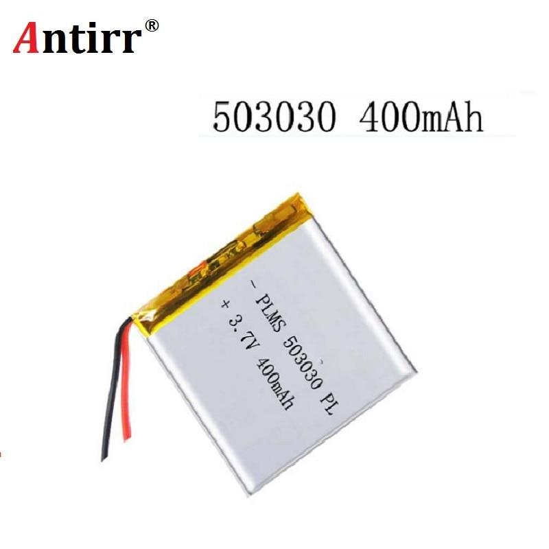 3.7V 500mAh Battery 503030 Lithium Polymer Rechargeable Battery Li Po Li Ion For Mp3 DVD Camera GPS PSP Bluetooth Electronics