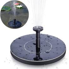 Garden Mini Solar Power Water Fountain Pool Pond Outdoor Solar Panel Bird Bath Floating Water Fountain Pump Garden Decor