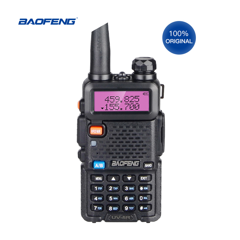Baofeng UV5R Dual band VHF//UHF Two Way Ham Radio Transceiver Walkie Talkie