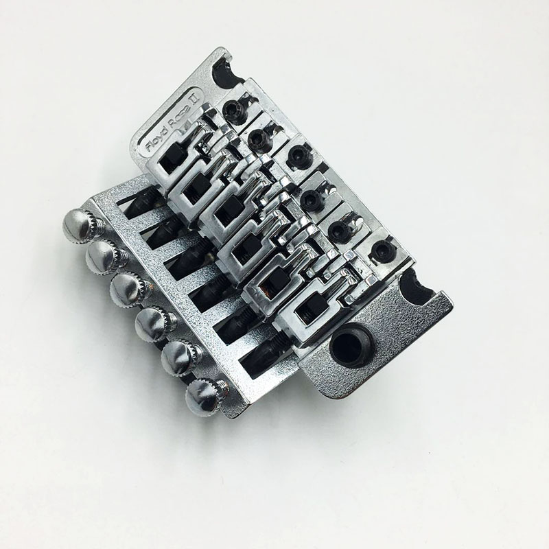 Floyd Rose 6 cordes système tréolo tirer chaîne plaque pont pour guitare électrique Double secousse