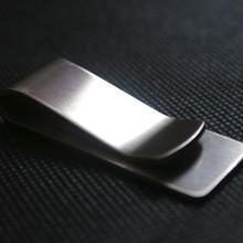 Wallet Cash-Holder Money-Clip Pocket-Credit-Card Stainless-Steel Para Mini Metal Brass