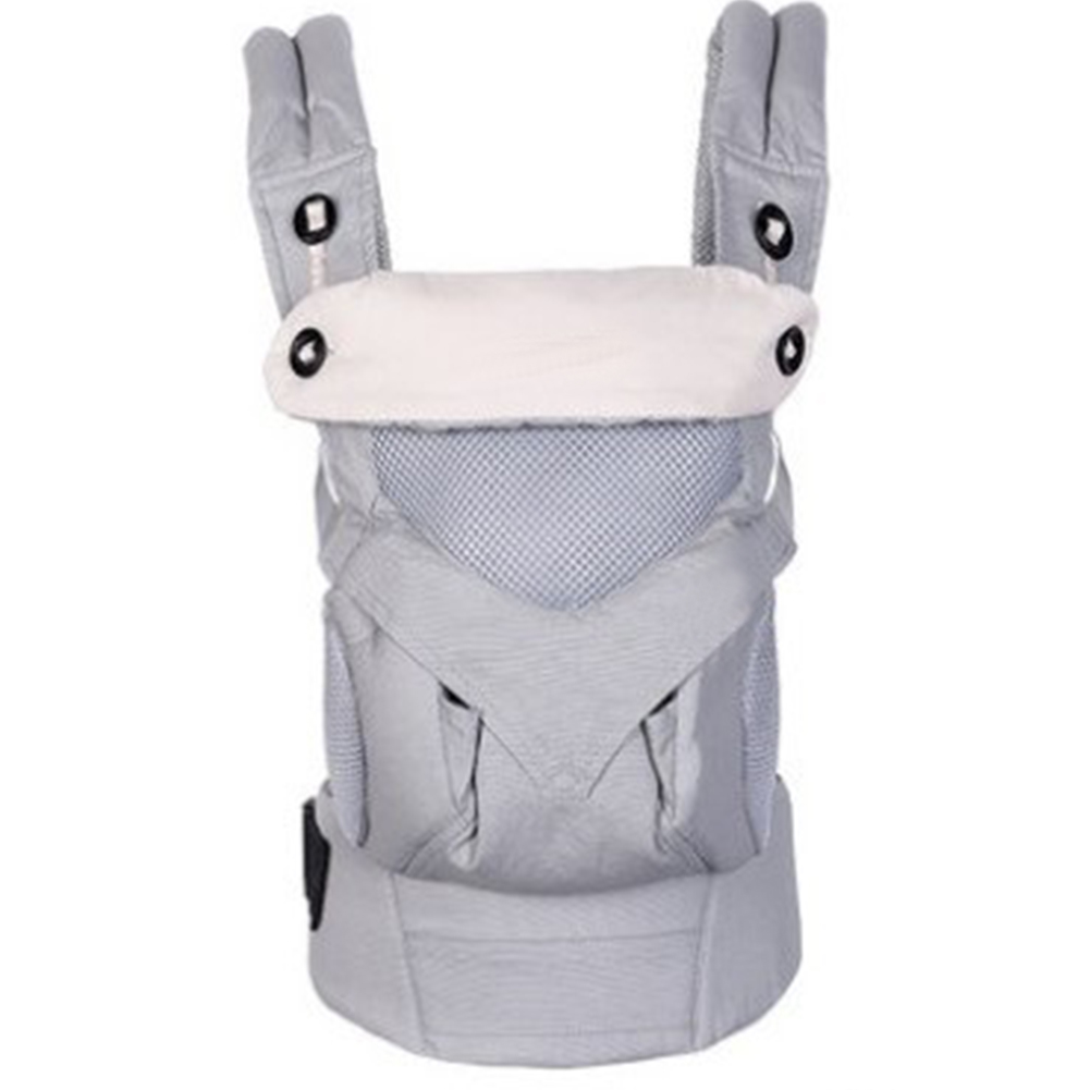 Baby Carrier With Hat Sling Hands Free Portable Backpack Adjustable Wrap Cotton Blend Multifunction Shoulders Strap Breathable
