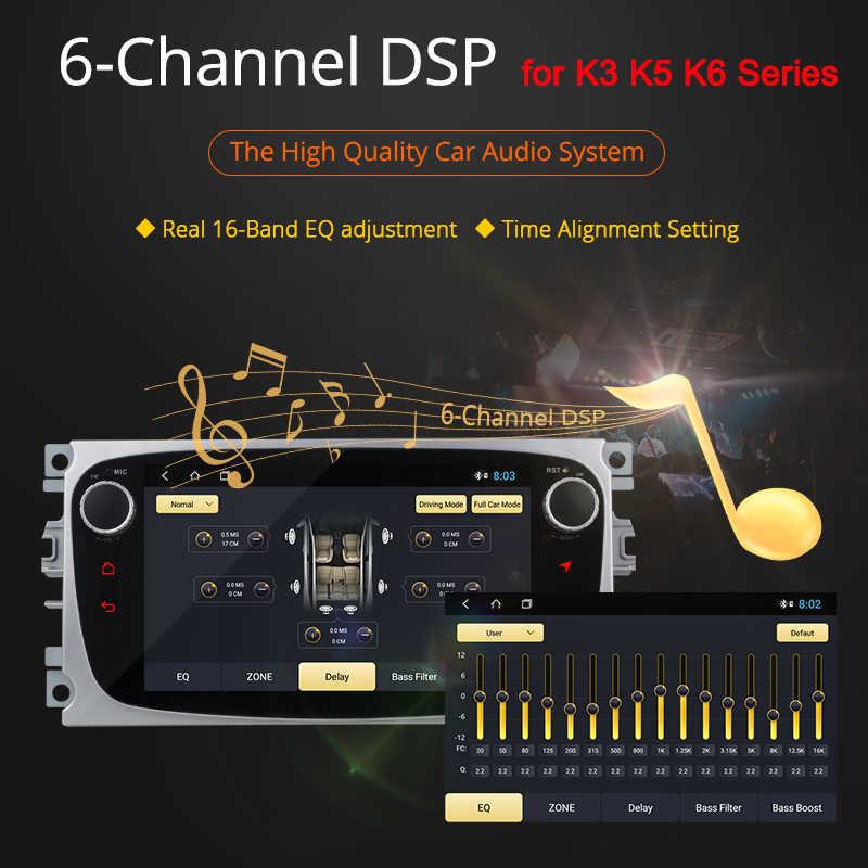 Ownice K1 K2 K3 K5 K6 アンドロイド 5 オクタ 9.0 8 コア車用 Dvd プレーヤーモンデオ S-MAX Connect FOCUS 2008-2011 ラジオ GPS 4 4G LTE DSP