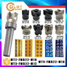 MT2 FMB22 M10 MT3 FMB22 M12 MT4 FMB22 M16 Shank BAP400R 300R 50 Face Milling CNC Cutter + 10pcs APMT1604 Inserts For Power Tool