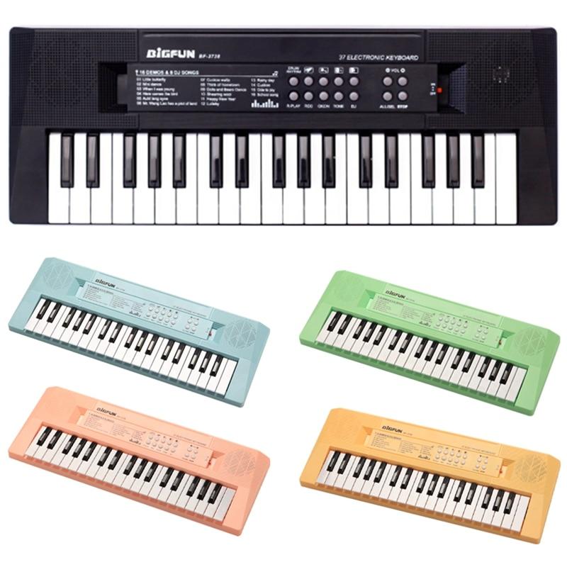 Bigfun Kids Keyboard Piano, 37 Keys for Musical Instrument Gift Toys