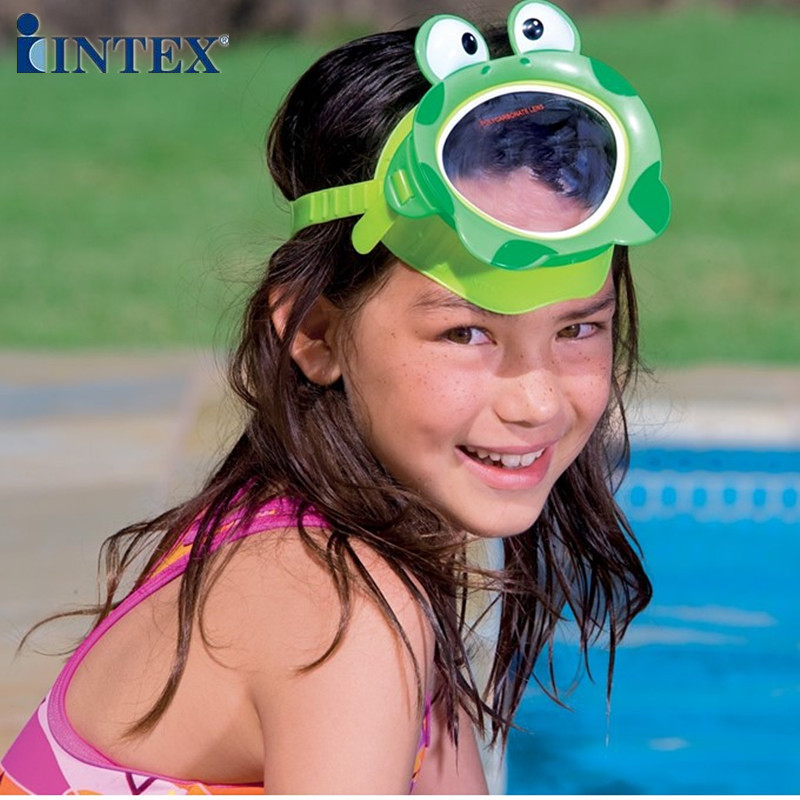 Intex55910 Fun Animal Mask Children Swimming Goggles Play With Water Mask Diving Glasses Goggles