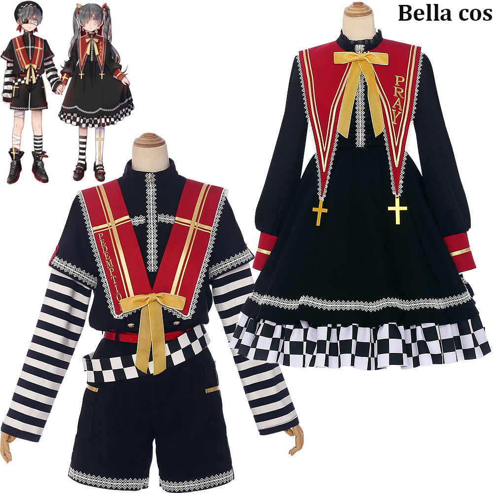 New Black Butler Ciel Phantomhive cosplay costume lolita dress suits uniform halloween costumes for boy girls Anime clothes cos