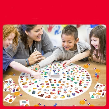 Find It Out with A Small Flashlight Children's Board Game Parent-child Interaction Cultivate Baby Concentration Party Game the voting game find out who your friends are party game for adult