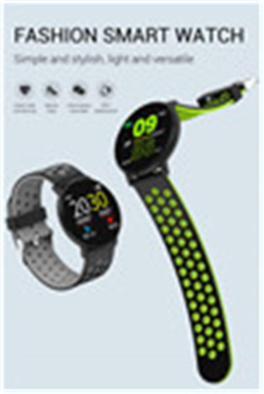 Hea85fdbbc8534cb6b28297e18fb0cd91q Fitness Bracelet 1.3'' Screen Smart Bracelet Blood Pressure Heart Rate Monitor Fitness Tracker Waterproof Ip67 Smart Band Watch
