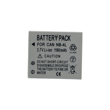 цена на 1pc 1180mAh NB-4L NB4L NB 4L Camera Battery For Canon IXUS 30 40 50 55 60 65 80 100 110 120 130 IS 115 220 230 HS 1100 Batteries