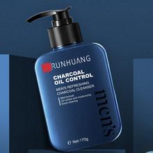 Facial-Cleanser Oil-Control Skin-Care Blackhead-Acne Charcoal Bamboo Remove Moisturizing