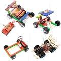 Набор «сделай сам», гоночный автомобиль с дистанционным управлением, научный эксперимент, Обучающие игрушки STEM, технология, электронное ст...