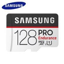 بطاقة ذاكرة سامسونج مايكرو Sd برو التحمل 100mbs 128gb 64gb 32gb Sdxc Sdhc فئة 10 C10 Uhs i عبر فلاش ميكروسد جديد