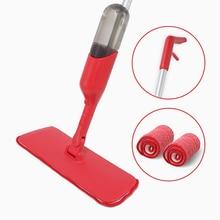 Cleanhome Spray Mop with 360 Degree Handle Mop Reusable Microfiber Pads for Home Kitchen Wooden Floor Ceramic Tiles Floor Tools