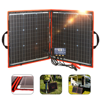 80w 12V Flexible Solar Panel Outdoor Foldble Solar Panels Sets For Home Hiking/Boats/RV/ Solar Cell 18V Solar Charge panel
