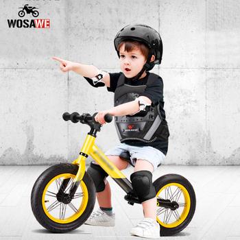 WOSAWE dziecko tył zbroi wsparcie ochrona jazda na rowerze narciarstwo Protector kurtka dla dzieci kamizelka ochrona klatki piersiowej sprzęt przekładnia motocyklowa tanie i dobre opinie CN (pochodzenie) ML213 Suitable for 6~12 years old